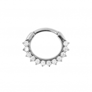 Gemmed Sunflower Ring