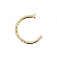 Gold Open Nose Ring