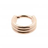 Triple Click Ring Flat