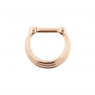 Triple Ring Septum Clicker