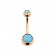 Double Jewelled Belly Ring