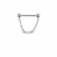 Nipple Barbell With Chain
