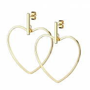 Dangle Earstuds - Heart