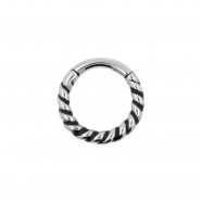 Click Ring - Twisted Wire