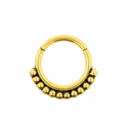 Click Ring - Vintage Dots