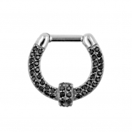 Double Zirkonia Septum Clicker