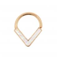 Glitter Opal Bendable Ring