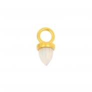 Clicker Charm - Opal Spike