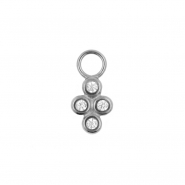 Click Ring Charm - Cluster