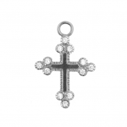 Click Ring Charm - Cross