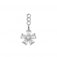 Earring Jacket - Petal Flower