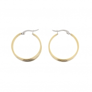 Duotone Rings Earrings