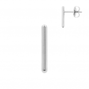 Ear Studs - Parallel Wires Long