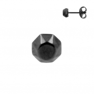 Faceted Ear Studs