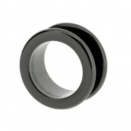 Black steel tunnel (round edged)