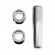 Complete titanium stretch kit - 2 tunnels + taper