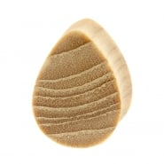 Sungkai Wood Teardrop Plug - Domed