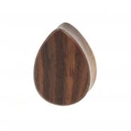 Sono Wood Teardrop Plug - Flat