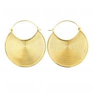 Brass Hoops - Eclipse