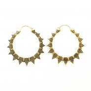 Brass Hoops - Sun