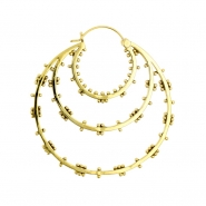 Brass Hoops - Inner Circle