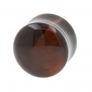 Red Tiger's Eye Plug