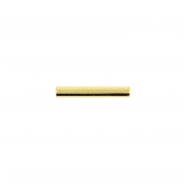 Gold Mini Straight Barbell Post