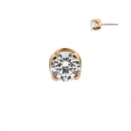 Rose Gold Swarovski Zirconia Attachment - Threadless