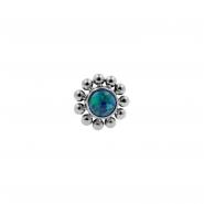 Titanium Opal Cluster - Threadless