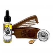 Beard Care Kit Oil, Balm & Comb - Toni Limoni