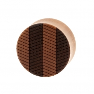 Zig Zag Plugs - Sawo Wood