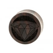 Diamond Plugs  - Sono Wood