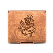 Wooden Jewelry Box - I Can't Swim