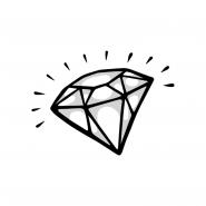 Sticker - Diamond